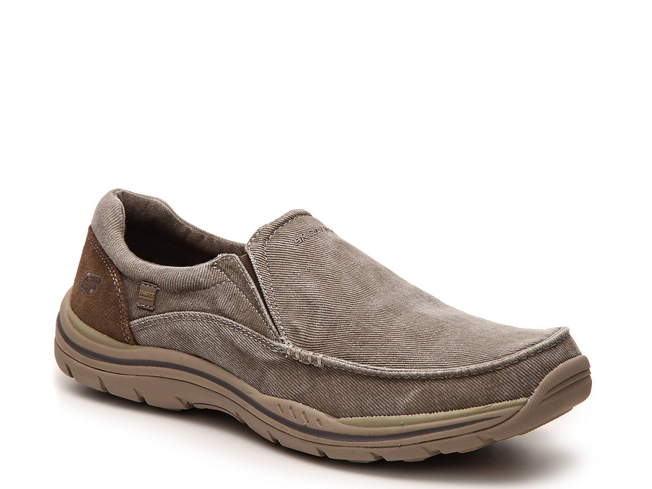 34ee2ae5014e1 Skechers Relaxed Fit Avillo Slip-On Men's Shoes | DSW