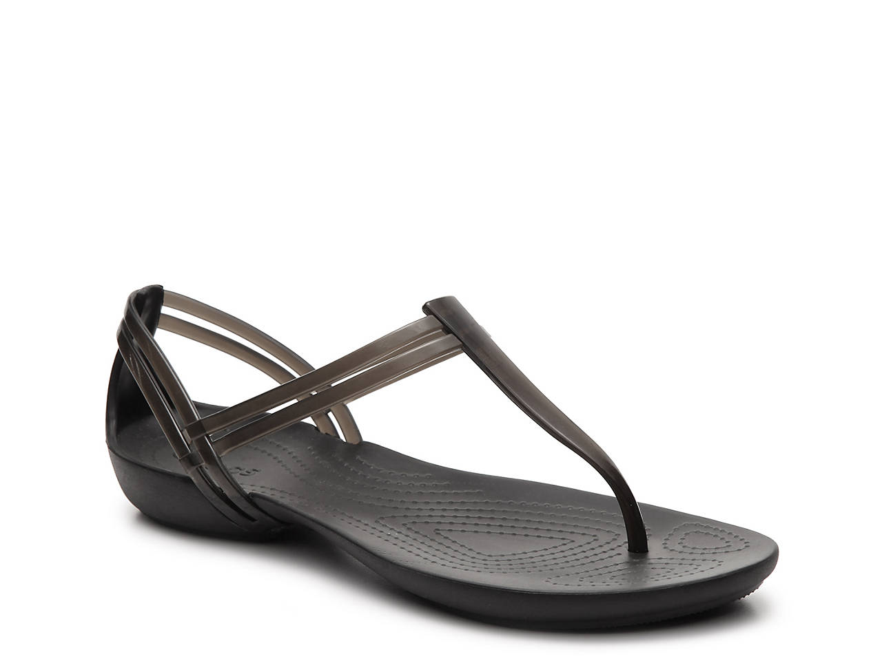 b16021b7f Crocs Isabella T-Strap Jelly Sandal Women s Shoes