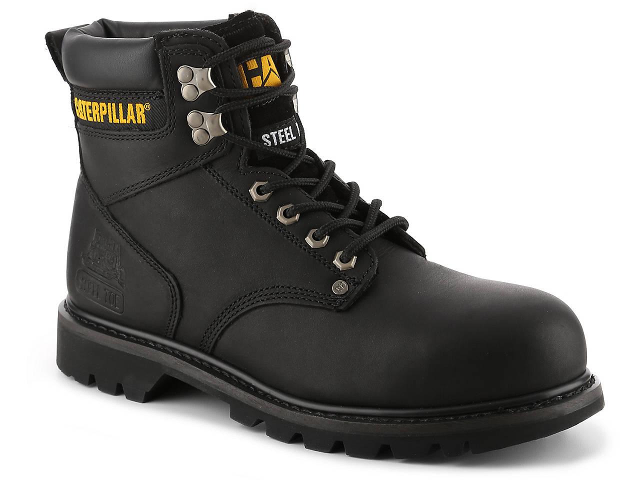 0fd5afad839 Caterpillar Second Shift Steel Toe Work Boot Men's Shoes | DSW