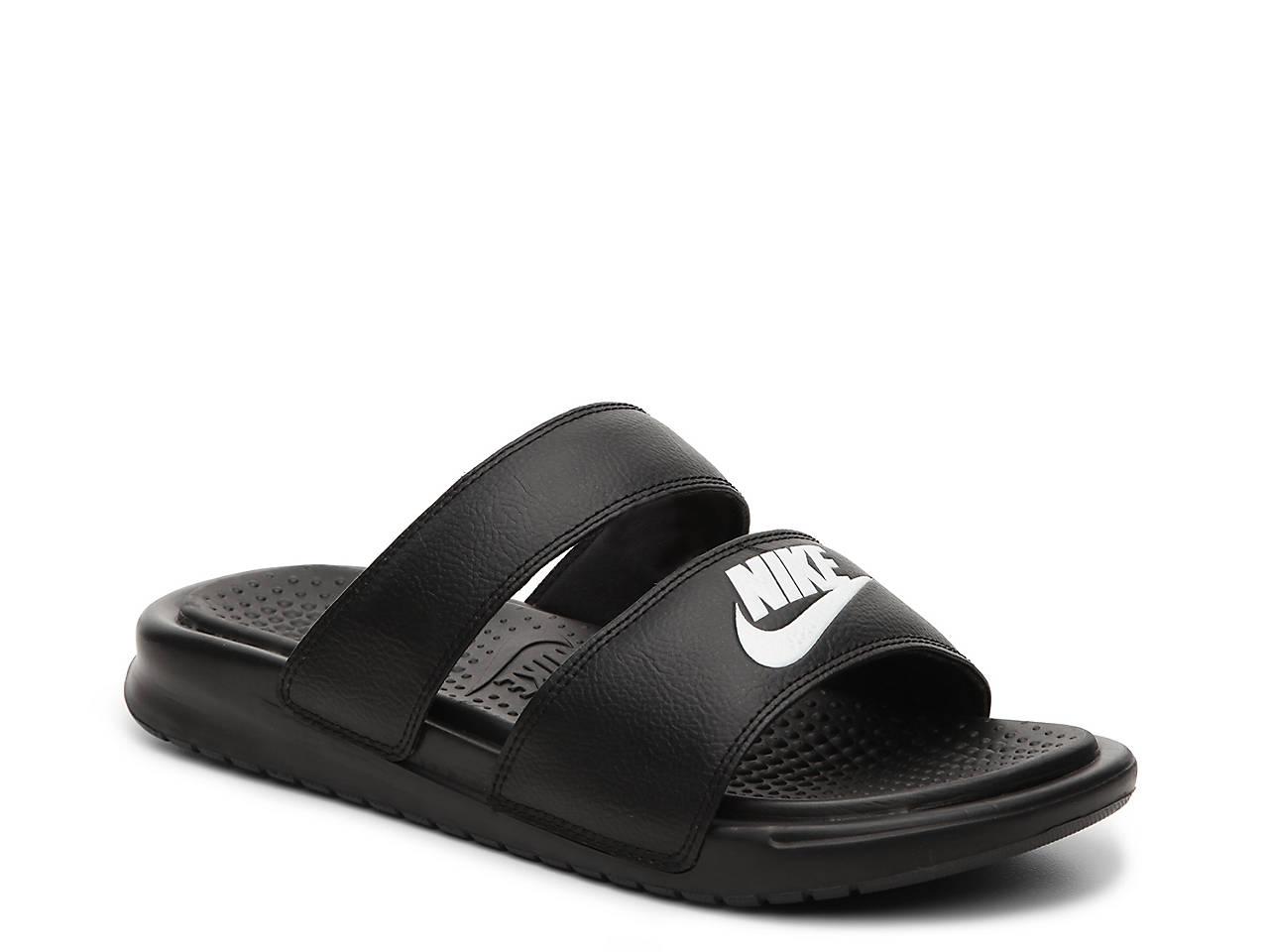 nike benassi duo ultra  slide sandalo le scarpe da donna dsw