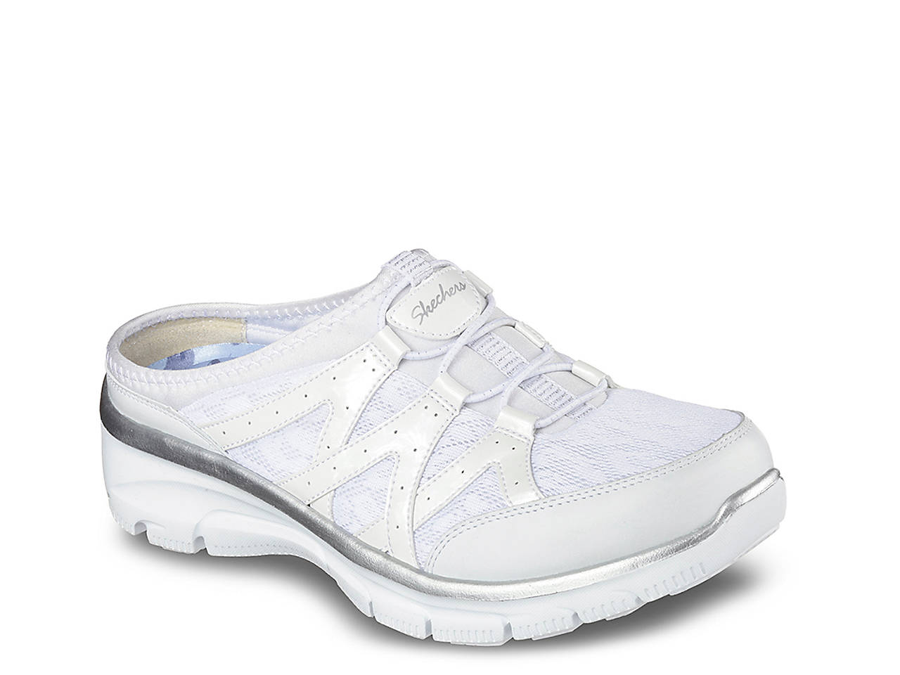 Skechers Relaxed Fit Easy Going Repute Slip-On Sneaker Women s Shoes ... ce900a192