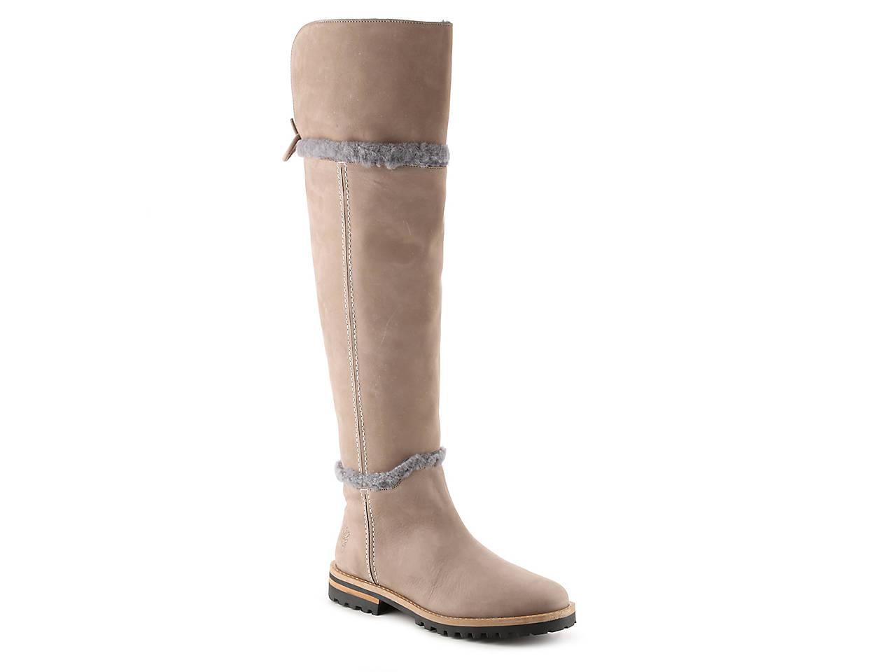 Tan Blondo Ladies Boot Wynland Over The Knee