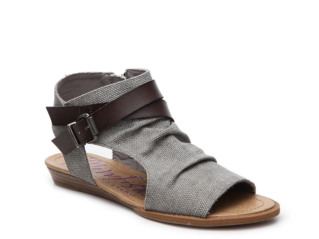 03b6aab38815 Blowfish Balla Wedge Sandal Women s Shoes