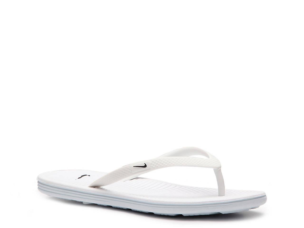 19f1ec032916c5 Nike Solarsoft II Flip Flop Women s Shoes