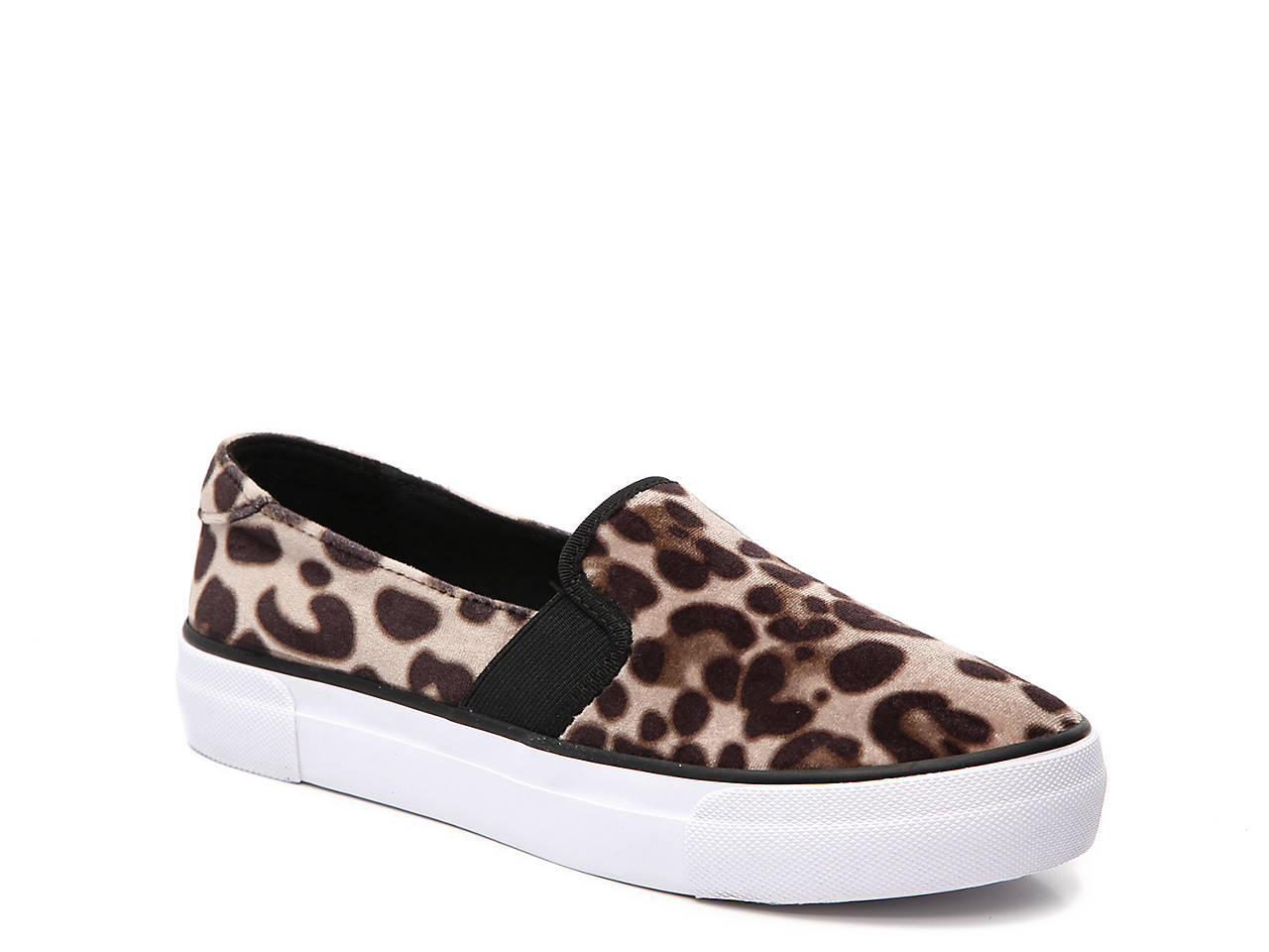 Gilley Velvet Slip-On Sneaker