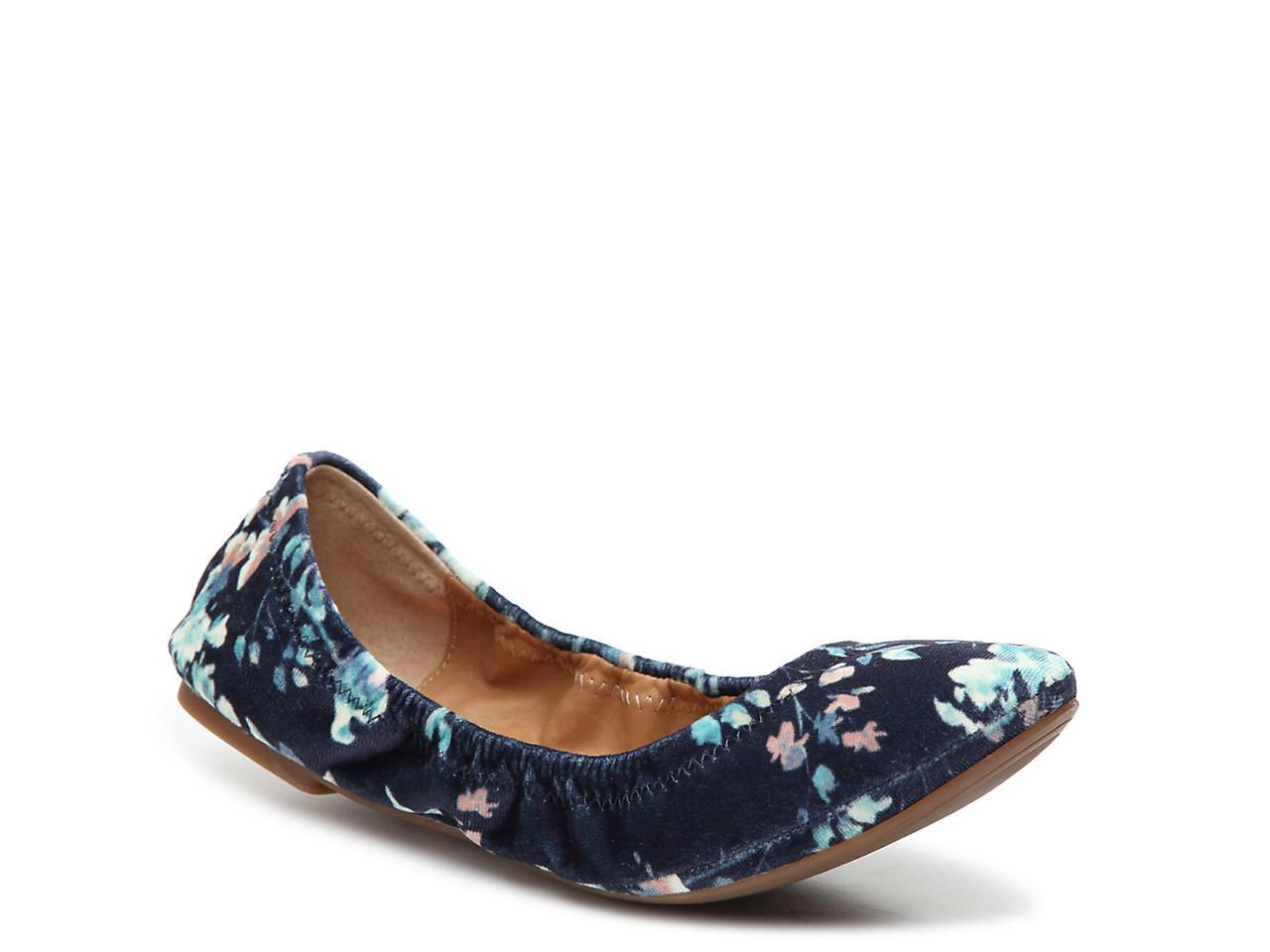3cad90a12abd Lucky Brand Emmie Velvet Ballet Flat Women s Shoes